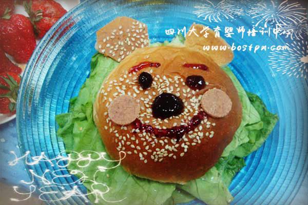 宝宝餐制作-可爱熊